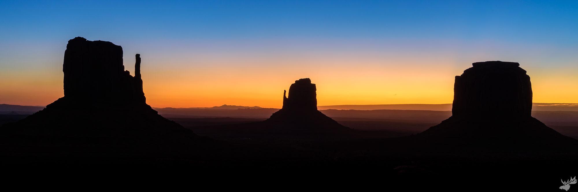 desert, sunrise, winter